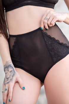 Nala Lace Edge High Rise Panty